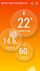 Instant Thermometer screenshot 1