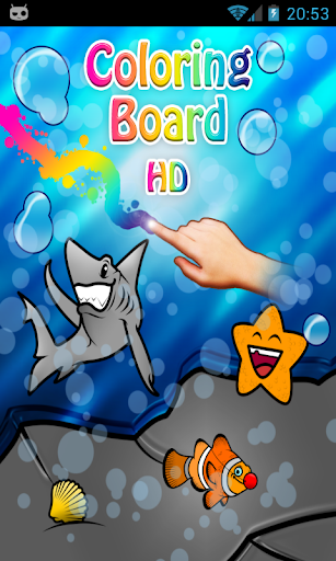 Coloring Board - Water full