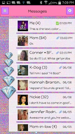 GO SMS - Diamond Blitz