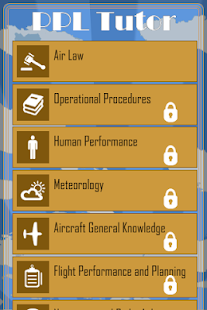 EASA PPL Exam Tutor- screenshot thumbnail