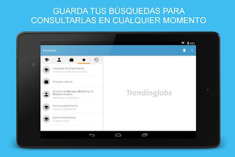TrendingJobs para InfoJobs - screenshot thumbnail