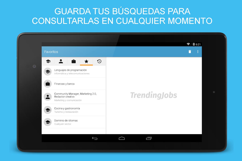 TrendingJobs para InfoJobs - screenshot