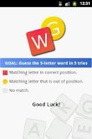 Screenshot of Word Guess