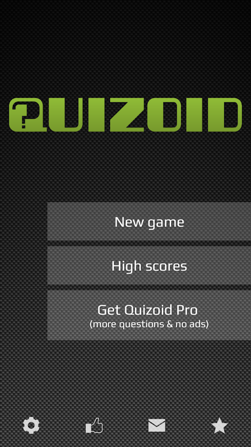 Quizoid (Trivia) - screenshot