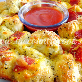Pull-Apart Pizza Bread