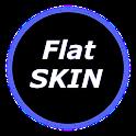 Poweramp Skin Flat Classic icon