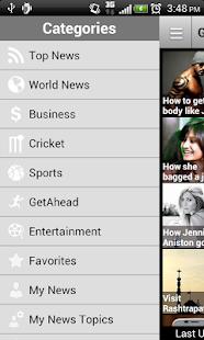 Rediff News - screenshot thumbnail