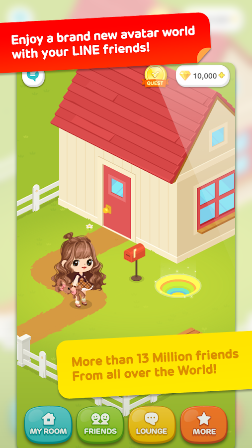 LINE PLAY - screenshot