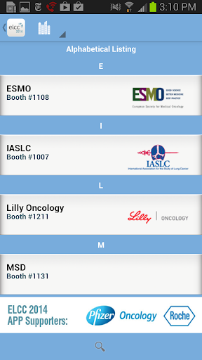 【免費醫療App】European Lung Cancer 2014-APP點子