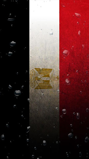 Egypt flag water effect LWP
