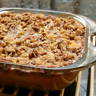 Sweet Potato Casserole Recipe with Pecan Topping