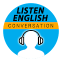 Listen English Conversation icon