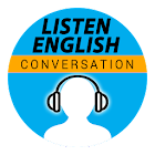 Listen English Conversation icon