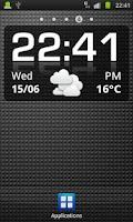 Screenshot of Click Clock Widget