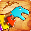 First Kids Puzzles: Dinosaurs logo