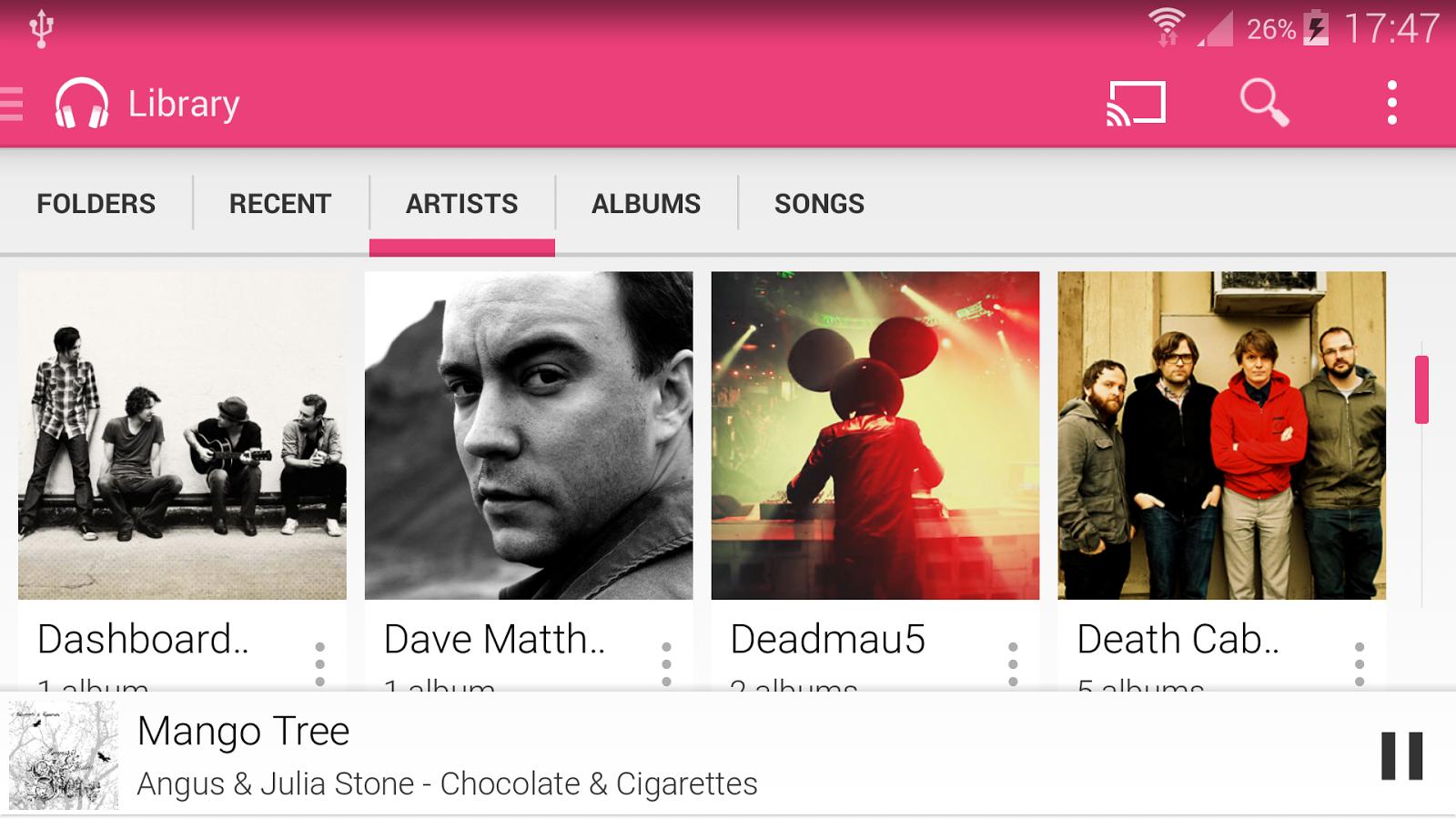 Shuttle+ Music Player - screenshot