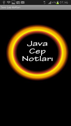 Java Cep Notlari