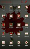 Screenshot of A Flower Atom theme