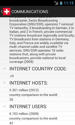 【免費教育App】Switzerland Facts-APP點子