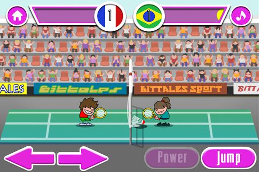 羽毛球比赛