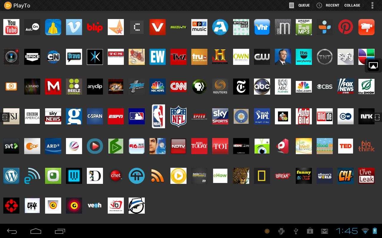 PlayTo Samsung TV - screenshot
