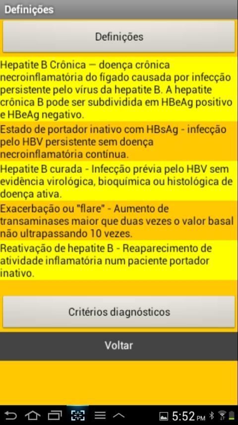 Hepatite B free - screenshot
