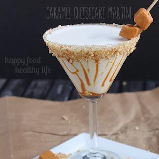 Caramel Cheesecake Martini