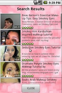 Makeup Tutorials - screenshot thumbnail