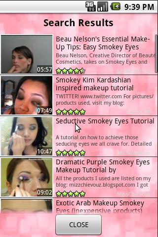 Makeup Tutorials - screenshot