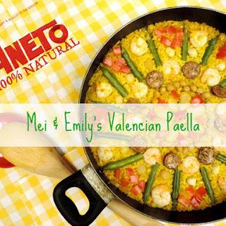 Mei & Emily's Valencian Paella!