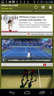 Venus Williams: The Root 100 - screenshot thumbnail