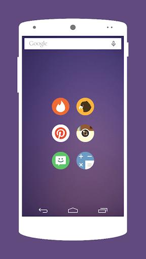 玩免費個人化APP|下載Flato Round アイコンパック app不用錢|硬是要APP