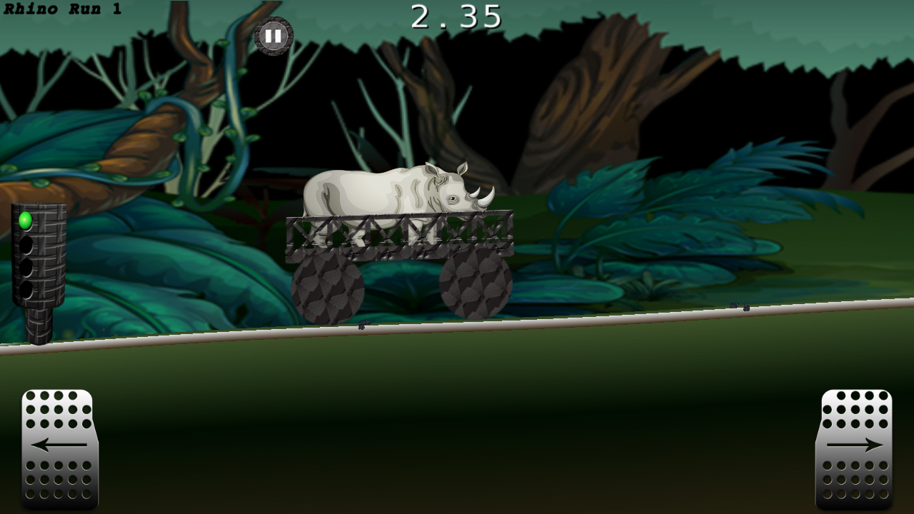 Rhino Kart Racing- screenshot