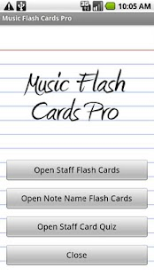 Music Flash Cards Pro- screenshot thumbnail