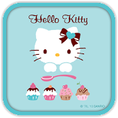 Hello Kitty LoveCupCake Theme