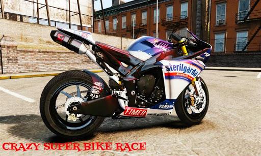 Crazy Super Bike Race