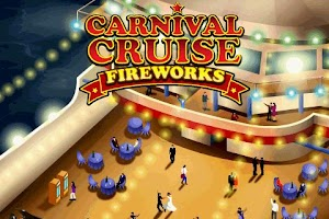 Screenshot of Carnival Cruise Fireworks