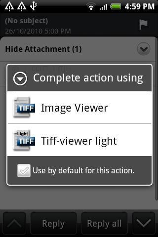 TIFF and FAX viewer - lite - screenshot