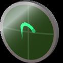 Car acceleration sensor person icon