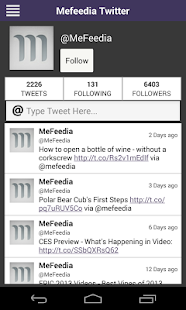 MeFeedia - screenshot thumbnail