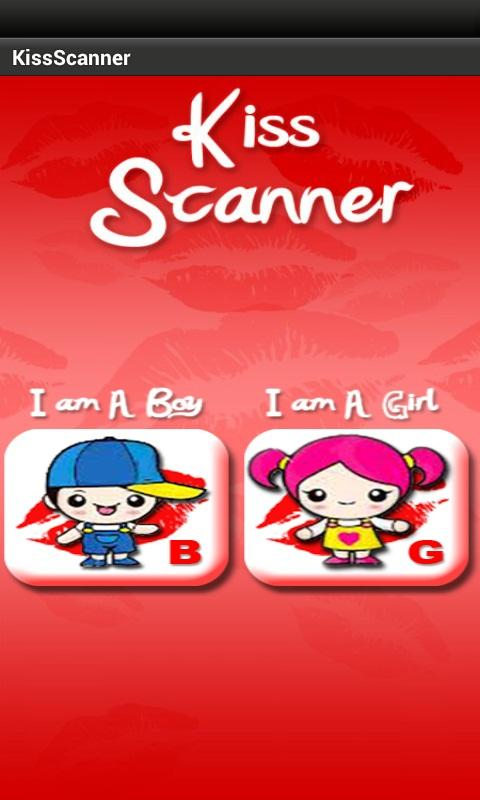 Kiss me Scanner - screenshot