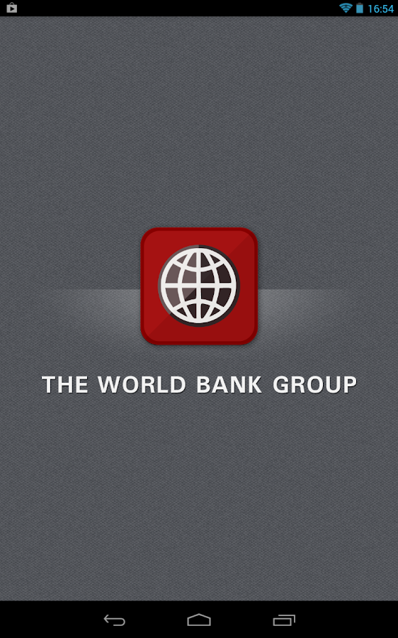 World Bank Group Finances - screenshot