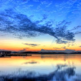 Morning Light by Rizki Mayendra - Landscapes Sunsets & Sunrises ( sunrise, landscape, gradiant, HDR, Landscapes )
