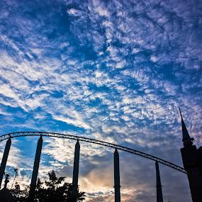 Beautiful by Qamrul Hassan Shajal - Landscapes Cloud Formations ( sky, beautiful, roller coaster, cloud, shape )