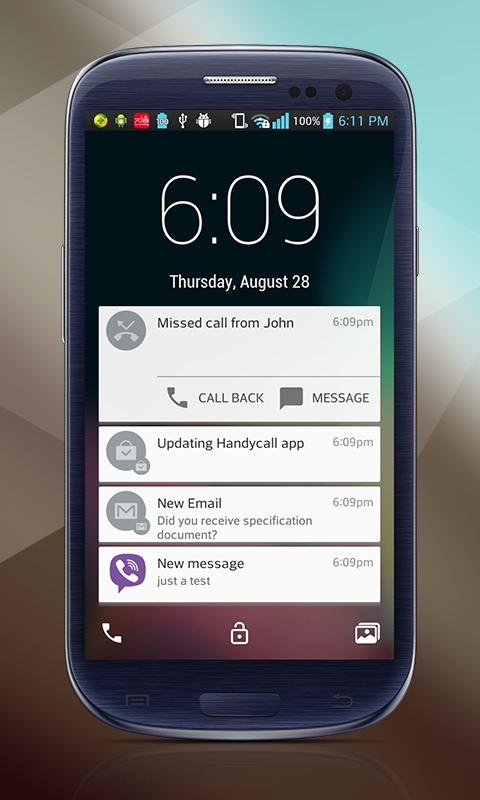 Lollipop Lockscreen Android L v1.2.5 (IAP Unlocked) APK