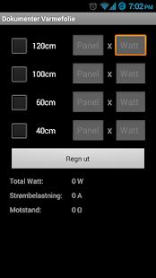 Elektro Installasjons Formler- screenshot thumbnail