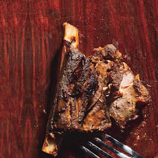 Coffee-Marinated Bison Short Ribs.