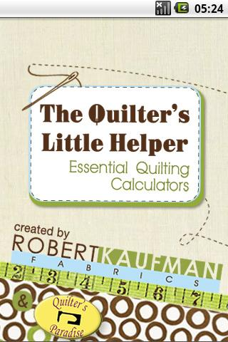 Quilting Calculators - screenshot