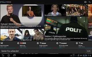 Screenshot of TV 2 PLAY