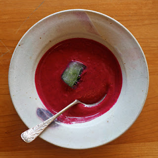 Cold Beet Yogurt Soup